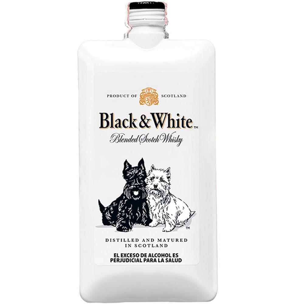 Whisky Black White X 200ml Tiendas Metro Colombia